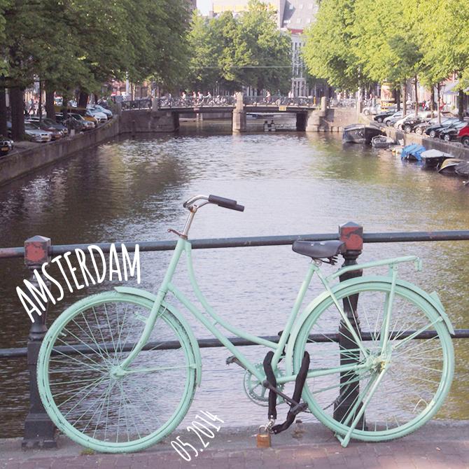superkitina ruta por Amsterdam bici mint