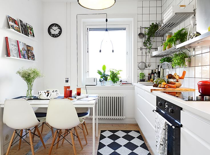 Deco cocina blanca azulejo blanco superkitina for Ideas deco estilo