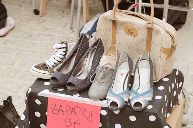 Superkitina Blog: Lost & Found market Conde Duque