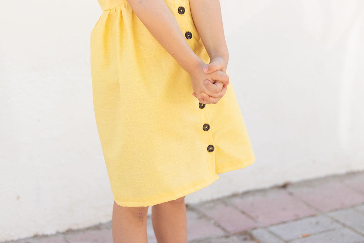Superkitina vestido amarillo
